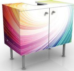 PPS. Imaging Waschbeckenunterschrank - Kaleidoscope - Badschrank Bunt