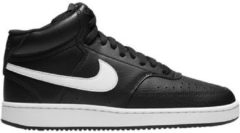 Nike court vision mid sneakers zwart/wit dames