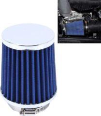 Merkloos / Sans marque HKS Universele luchtfilter voor paddestoelkop 5 cm voor auto (blauw)