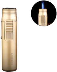 IPRee® Zinc Alloy Outdoor Mini Ignitor Starter Lighter Refillable Butane Windproof Torch Lighter