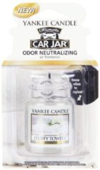 Paarse Yankee Candle Fluffy Towels Car Jar Ultimate