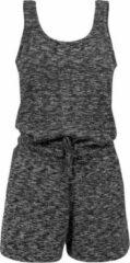 Urban Classics Jumpsuit -XS- Melange Hot Grijs/Zwart