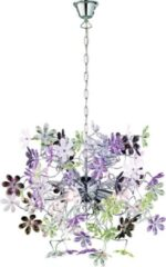 Reality Leuchten Trio Lighting FLOWER - Hanglamp - E14 fitting, 40W max - Chroom