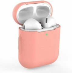 Able & Borret Airpod case | Hoesje | Antislip | Anti shock | Donker roze | AirPods