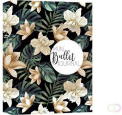 Zwarte MUS creatief Mijn Bullet Journal - Black flowers