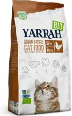 6x Yarrah Bio Kattenvoer Graanvrij Kip-Vis 800 gr