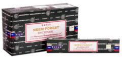 Bruine Nag champa Wierook satya neem forest
