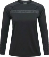 Peak Performance - Pro CO2 Longsleeve Women - Zwart - Dames - maat XL