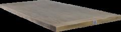 HSM Collection Tafelblad Monaco - 200x100 cm - oud grijs