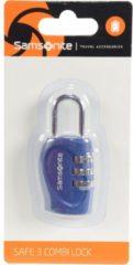 Accessories Reise-Sicherheit Vorhängeschloss IV 2,5 cm Samsonite indigo blue