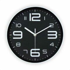 Zwarte SensaHome Wandklok - Stille Uurwerk - Diameter 25cm - TM20014 - 6