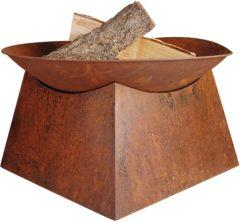 Bruine Esschert design Esschert Fancy Flames Vuurschaal
