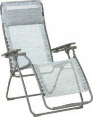 Blauwe LAFUMA FUTURA - VLNEO - Relaxstoel - Traploos Verstelbaar - Inklapbaar - Zero Gravity