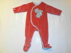 Pyjama noukie's 9 maand 74cm uni rood