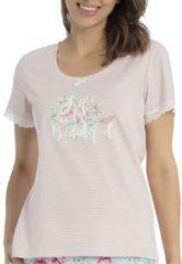 T-Shirt mit Streifen Blumenprint Taubert original