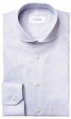 Grijze Eton Overhemd lm