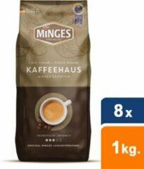 Minges - Café Crème Kaffeehaus Bonen - 8x 1 kg