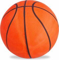 Relaxdays basketbal maat 7 - straatbal - binnen en buiten - trainen - oranje