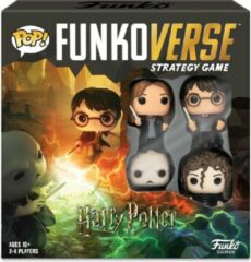 Merkloos / Sans marque POP Funkoverse Spanish board game Harry Potter 4pcs
