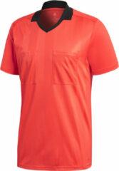 Adidas Performance Adidas Referee 18 SS Jersey Sportshirt performance - Maat M - Mannen - rood/oranje/zwart