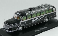 Krupp Titan 080 1951 – Atlas 1:72 - Bus - Modelauto - Schaalmodel - Model bus
