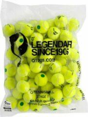 Quick - Q-Tennisbal Stage 1 60 stuks/zak Geel met Groene Stip