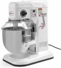Witte Hendi Keukenmixer Professional 7 Liter | 650W | 240x420x(h)425mm