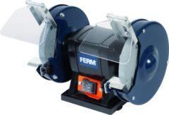 FERM Tafelslijpmachine 150W stofdichte schakelaar, vonkvangers - incl. 2 slijpschijven