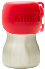 KONG H2O Stainless Steel Water Bottle - Rood - 280 ml
