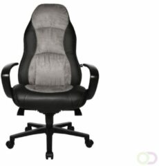 Topstar Hjh office Speed Chair AL.F2 - Bureaustoel - Kunstleder - Zwart / grijs