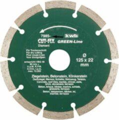 KWB Diamantschijf - 125 groen Line 7985-40