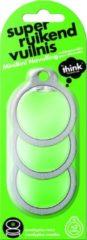 Groene Think! Think Huishoudelijke Geurverwijderaar - Navulling - Eucalyptus - Groen - Set van 3 stuks