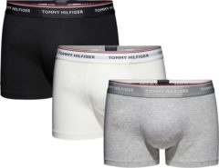 Grijze Tommy Hilfiger Boxershort STRETCH PREMIUM ESSENTIALS, set van 3