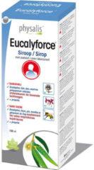 Physalis Eucalyforce siroop suikervrij 150 Milliliter