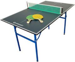 Blauwe Donic schildkröt Donic Schildkrot Table Tennis 1/4 Size Table Tennis Table Schildkrot Mini Table Extra Large 120 x 70 x 68 cm for Small Garden and Home Compact 838579 Table Tennis Table, Mėlyna, 120 x 70 x 68 cm