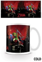 Witte Nintendo The Legend Of Zelda Battle - Heat Changing Mug