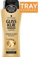 Schwarzkopf Gliss Kur Gliss Kur Shampoo Ultimate Oil Elixir - Voordeelverpakking 6 Stuks