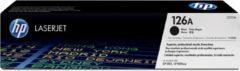 Zwarte HP 126A LaserJet originele toner cartridge zwart standard capacity 1.200 pagina s 1-pack