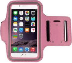 Go Go Gadget Sport Armband - Universeel - Verstelbaar - Hardlooparmband - Spatwaterdicht - Bescherming - Lichtgewicht - 78 x 150 mm (4,7 inch) - Roze