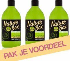 Nature Box Avocado Oil Hydraterende Bodylotion - 3 x 385 ml - Voordeelverpakking