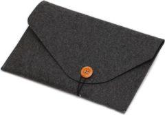 LAPPR® - Laptophoes - Laptopsleeve vilt - Laptoptas - Duurzaam - Bestseller - 15,6/16 inch - Zwart + GRATIS WEBCAMCOVER