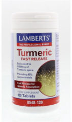 Lamberts Curcuma fast release (Turmeric) 120 Tabletten