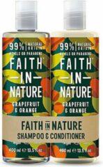 Faith in nature grapefruit en orange shampoo en conditioner