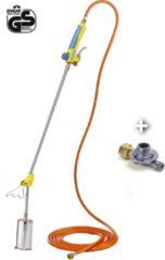 Gloria Thermoflamm Bio Professional onkruidbrander inclusief 5 meter gasslang en drukregelaar