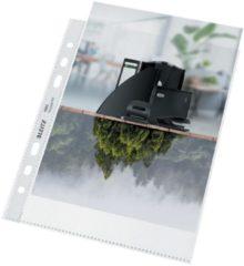 Leitz Recycle geperforeerde showtas, ft A5, 100 micron, gekorreld, doos van 25 stuks