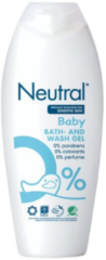 Neutral Baby Bad & Washgel (1 Flacon van 250 ml)
