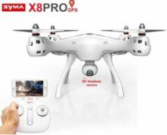 Transparante Syma X8 Pro GPS - FPV live Draaibaar camera -Upgrade Versie