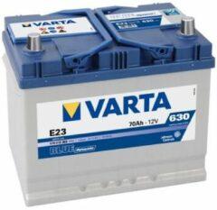 Varta BLUE Dynamic 570 412 063 3132 E23 12Volt 70 Ah 630A/EN Start Accu 4016987119693