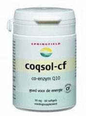 Springfield Nutraceuticals Springfield CoQsol-CF co-enzym Q10 30 mg 60 softgels