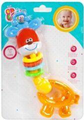 BamBam rammelaar giraffe - Geel dier vrolijk schattig - baby / peuter speelgoed kinderen